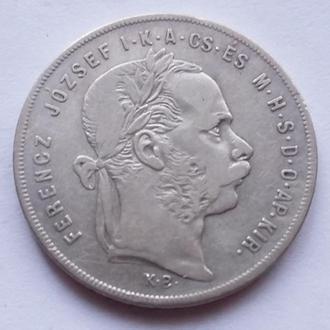 1 форин 1873  г Австро - Венгрия для Венгрии