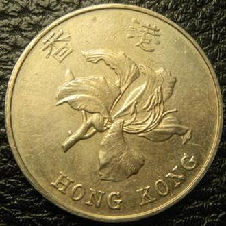 5 доларів Гонконг 1998
