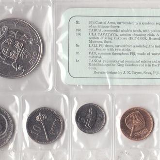 Набор Фиджи 6 монет 1969