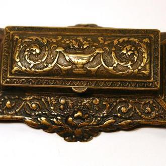 Бронзовая шкатулка Викторианский стиль S England