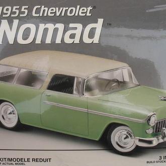 Сборная модель автомобиля Chevrolet  '55  Nomad  1:24 AMT