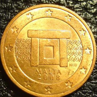 2 євроценти 2008 Мальта