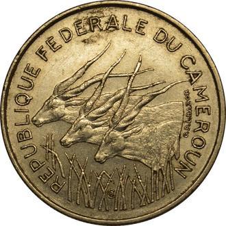 Камерун 100 франків 1971  B225