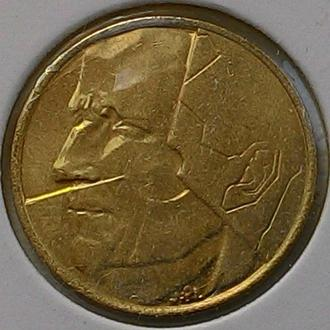 Бельгия 5 франков 1988  год ОТЛИЧНЫЙ СОХРАН!!!