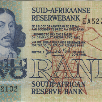 Южная Африка 2 ранда г. в UNC из пачки