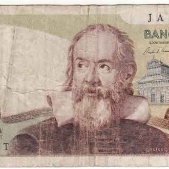 Италия 200 лир 1983 1973 Галилей нечастая
