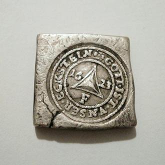 Серебро, слиток.