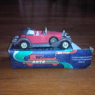 Машинка СССР ИА 1932 1:43