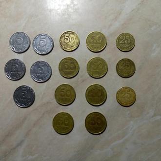 Монеты Украины 1992 года