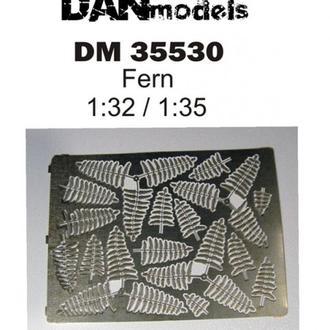 Danmodel 35530 - папоротник #1, 1/32-1/35