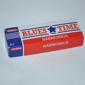 новая губная гармоника в коробке  blues time harmonica sghylling 2016 год оригинал