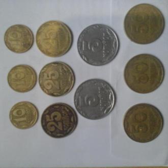 Монеты Укрвины 1992 года
