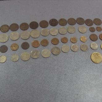 монеты болгария 1 2 5 10 20 50 лот 50 шт №739