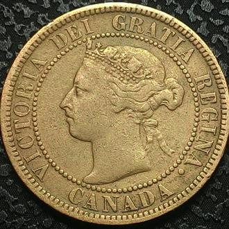 Канада 1 цент 1900 год