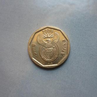 ЮАР 10 центов 2006 флора