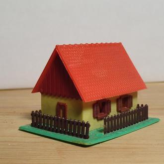 (0309) строение для макета ж/д в масштабе N (1:160)