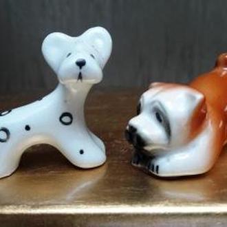 Собаки Два щенка миниатюры №2