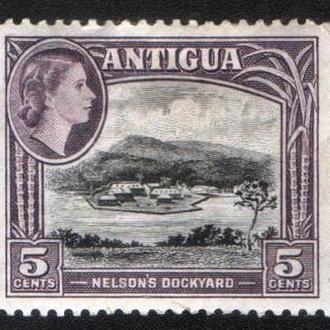 Антигуа (1953) Британская колония. Верфь Нельсона