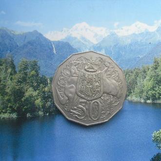 Австралия 50 центов 1999 года