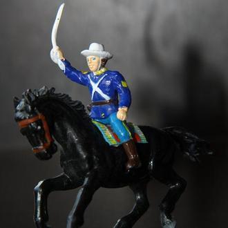 7-я кавалерия США PANINI (ИТАЛИЯ) 50мм МЯГКАЯ РЕЗИНА!!