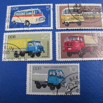 Транспорт Автомобілі Німеччина 1982