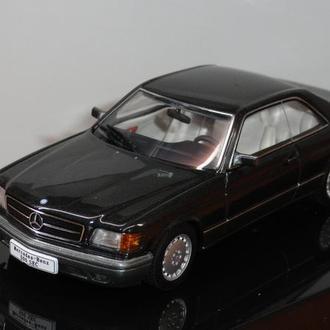 1/43  M.B. 500 SEC Coupe 1986  AutoArt
