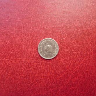 Венгрия 10 филлеров 1895