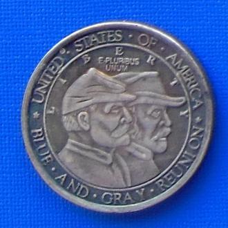 пол доллара США 1936 год  битва при Геттисберге