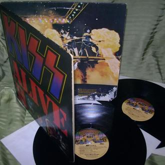 KISS  ALIVE II  1977  2LP  Casablanca USA  VG = / VG ++ / VG +
