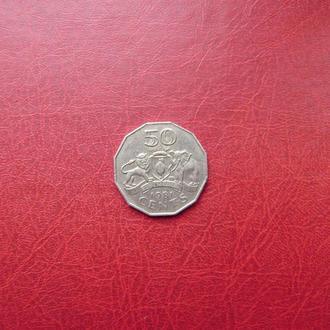 Свазиленд 50 центов 1981