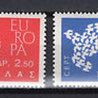Греция 1961 Европа СЕПТ