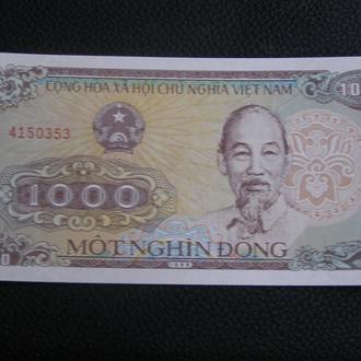 Вьетнам 1988 1000 донг ПРЕСС!