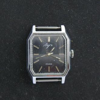 Часы мужские Луч СССР 23 камня механизм 2209 позолота