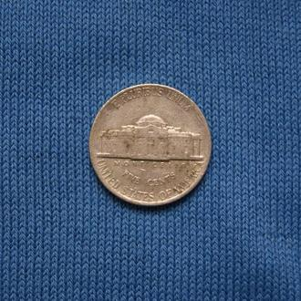 США  5 центов  1995 г  D