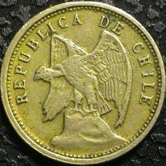 Чили 5 центаво 1928 год