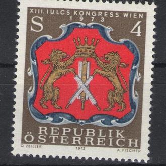 Австрия - герб 1973 - Michel Nr. 1422 **