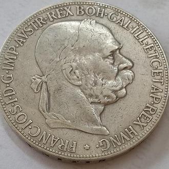 5 корон 1907 г Австро - Венгрия
