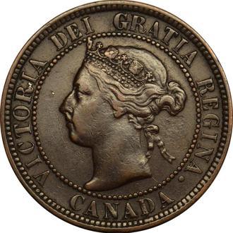 Канада 1 цент 1896  #278