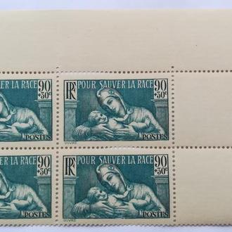 Франция 1939 г ( квартблок )