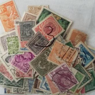 Марки 200 шт Европа ( 1890 - 1950 гг )  3