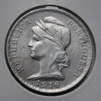 Португалия 1 эскудо 1916 г., СОСТОЯНИЕ