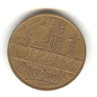 10 франков 1976