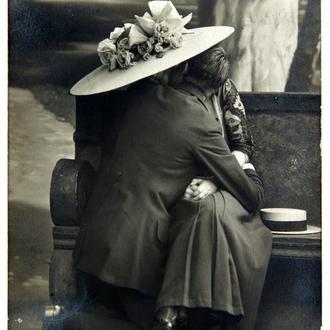 Открытка Мода и стиль нач. прошлого века 1912 г. №1 Германия Fv8.5