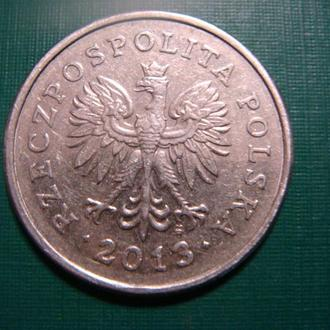 Польша 1 злотый  2013