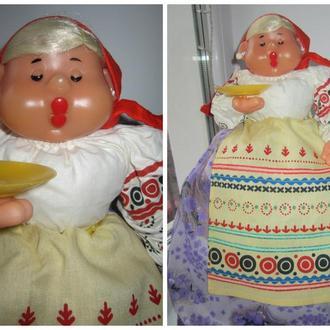 Кукла чаёвница на самовар Ленигрушка новая ценник СССР