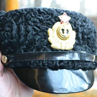 Шапка капитана первого ранга зимняя, 1965 год