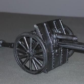 Британский артиллерийский  расчет, 1914-1918, 28 мм, олово