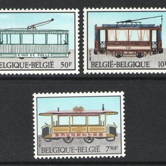 Бельгия - транспорт 1983 - Michel Nr. 2131-33 **