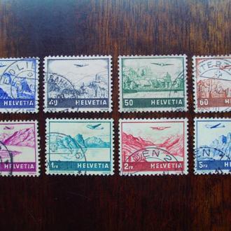 Швейцария.1941г. Самолёты. Полная серия.
