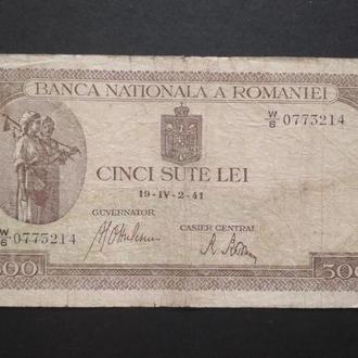 CINCI SUTE LEI 1941